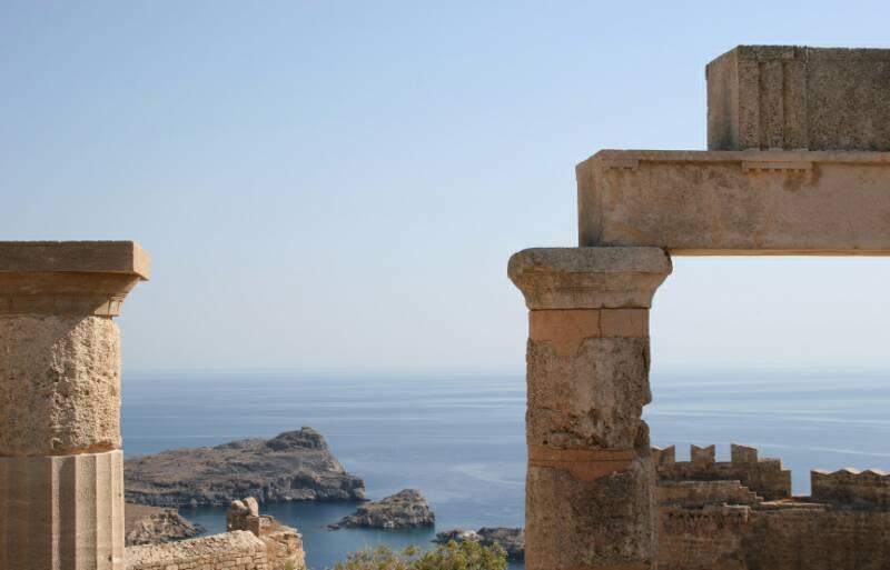 Great studio in Lindos - Best Views, Best value - Image 1 - Lindos - rentals