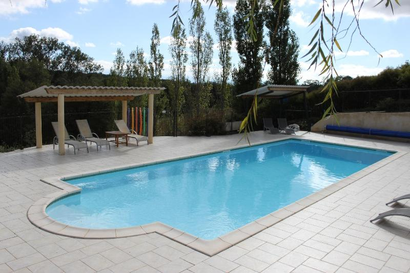 Heated pool - LoustalBeau - heated pool/ stunning setting (Aude) - Pech-Luna - rentals