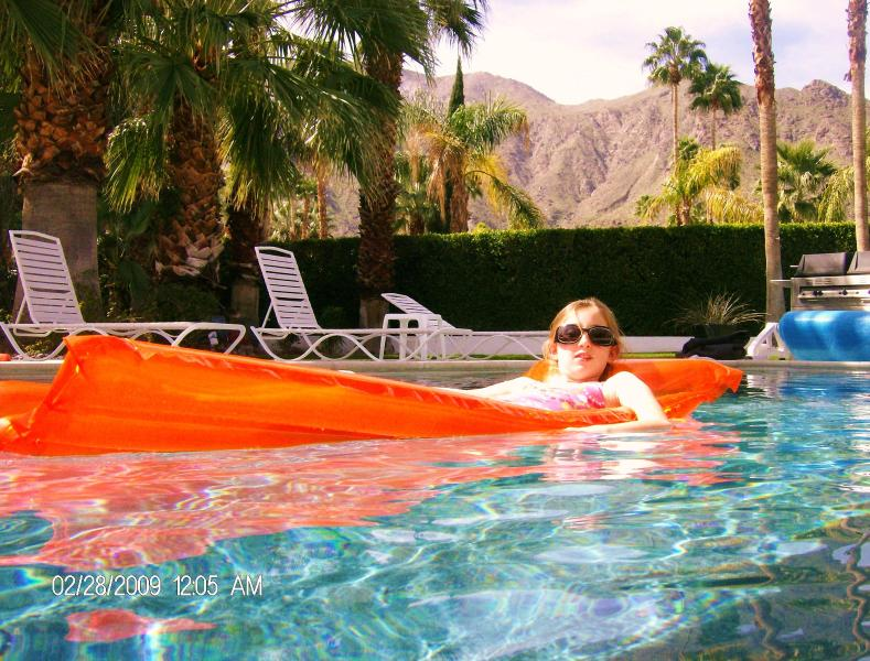 Beautiful mountain view from the pool - Gorgeous Mid Century Modern Estate Best Location! - Palm Springs - rentals