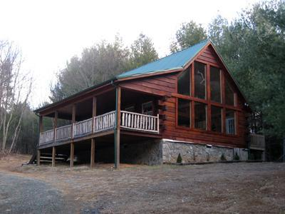 Mountain Breeze Log Cabin - Image 1 - Galax - rentals