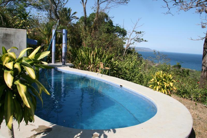 pool - POOL, STUNNING OCEAN VIEW, QUIET, WILDLIFE CORRIDOR - Montezuma - rentals