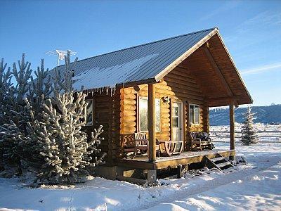 Cabin Exterior View - Darby Cabin & Barn - Driggs - rentals