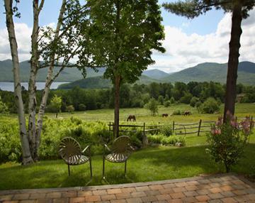 View from White Birches - White Birches - Chittenden - rentals