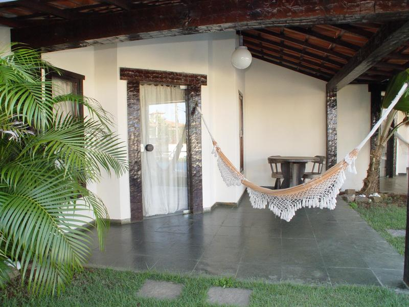 Front entrance Duplex for 4 people - Condominium Domus 7 - Buzios - rentals