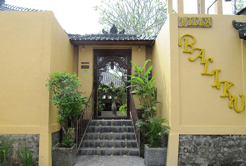 Entrance - Villa Baliku - Private, 2room villa, close to Ubud - Ubud - rentals