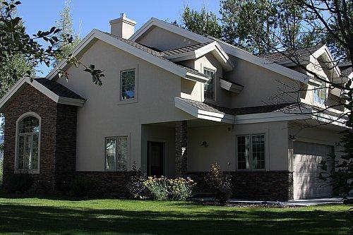 Exterior of townhome. - Aspen Creek - Ski Hill Road - Driggs - rentals