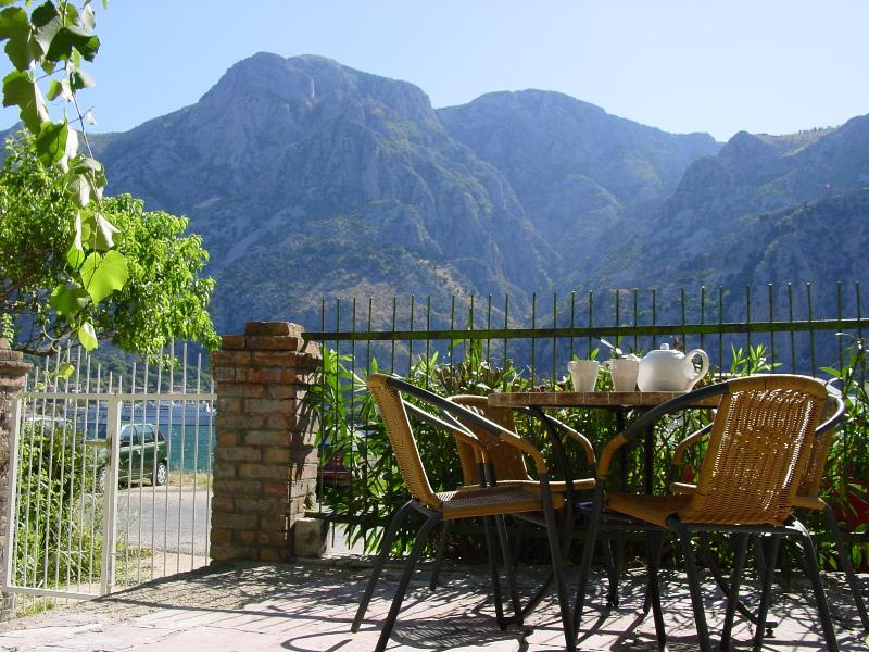 Terrace of Mimosa - Mimosa Montenegro - Kotor Bay - Kotor - rentals