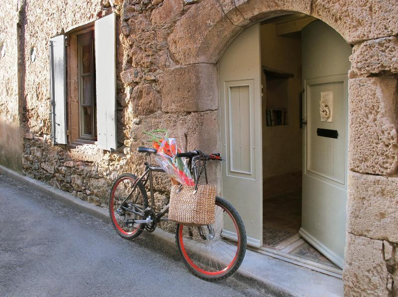 Original  stone arch entrance, seventeenth century - L'Ecritoire - Caunes-Minervois - rentals