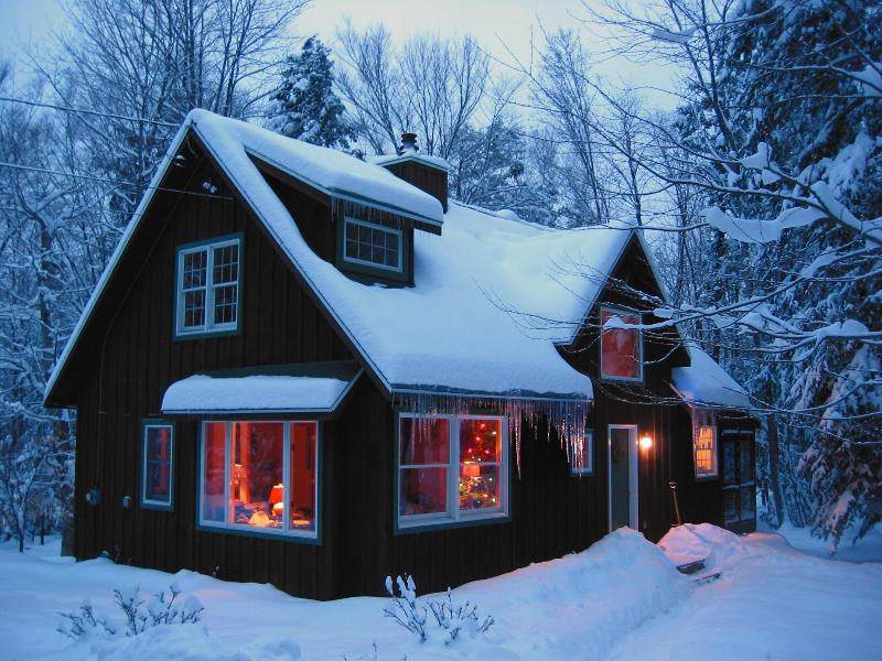 The cabin in winter. - Cabin Doh-Ray - Woodstock - rentals