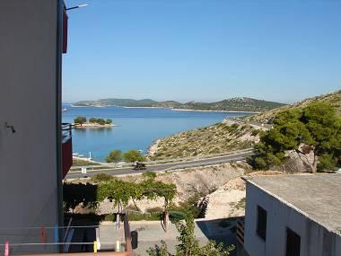 SA1(3): balcony view - 2846  SA1(3) - Bilo - Primosten - rentals