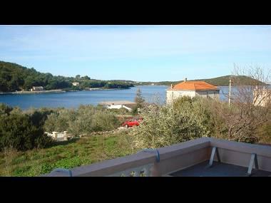 A1(2+2): terrace view - 2667  A1(2+2) - Soline (Dugi otok) - Verunic - rentals