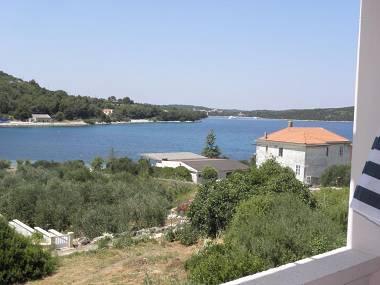 A6(2+2): terrace view - 2667  A6(2+2) - Soline (Dugi otok) - Verunic - rentals