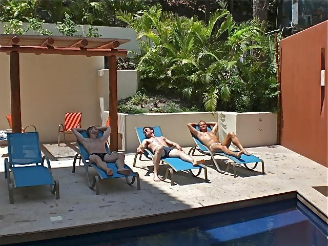 Sun yourself by our sparkling pool... - Bugambilia Blanca Vacation House and Condos - Puerto Vallarta - rentals