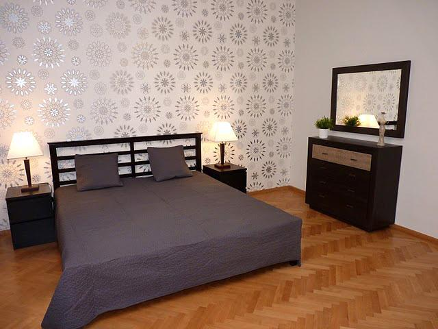 Bedroom 1 - Spacious Apartment - near Parliament + Danube - Budapest - rentals