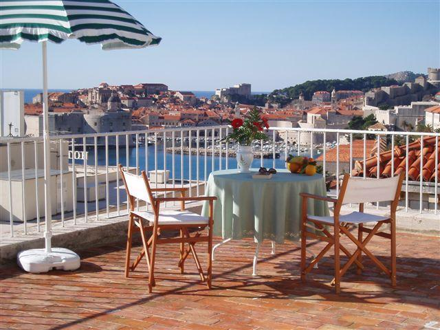 View of the Old City from your private terrace - Jinx&Jinxy Apartment (stunning terrace & position) - Dubrovnik - rentals