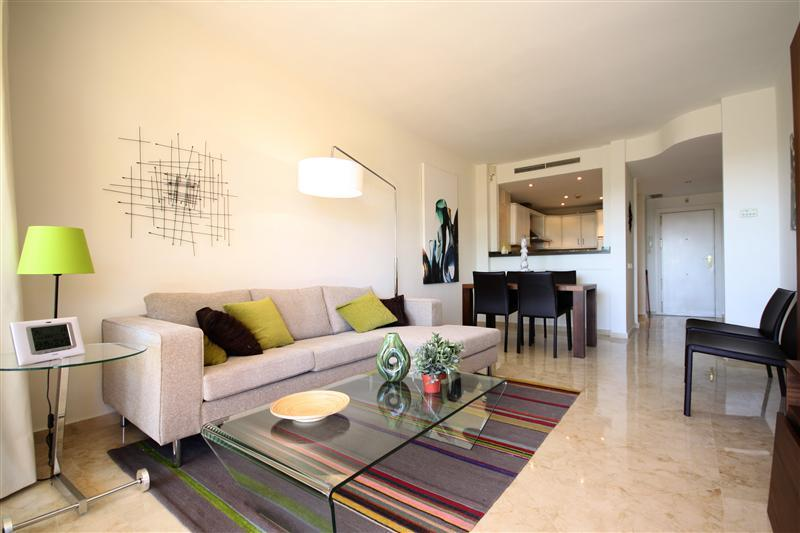 living room - Newly furnished apartment in Elviria - Marbella - rentals