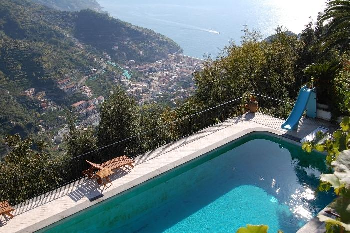 Villa Faletti House with pool in Ravello - Image 1 - Ravello - rentals