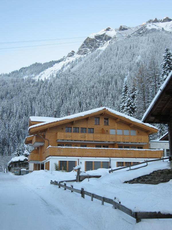 Chalet Waldbort, Hohturen is on first floor, left - Hohturen, Waldbort, Wengen, Switzerland - Wengen - rentals