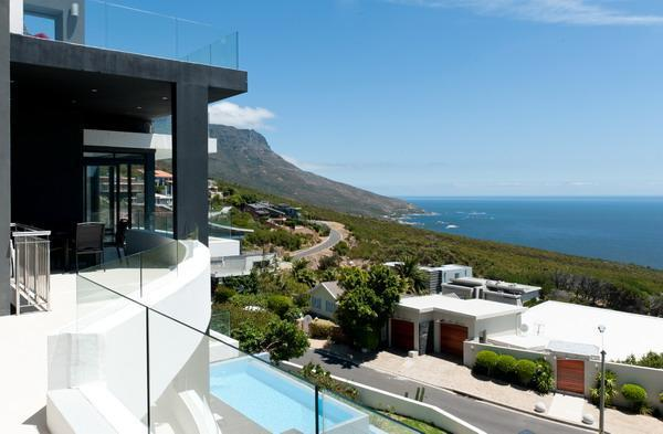 Views for main living area of the fourth floor - Panoramic views from all levels, 2 pools(1 heated) - Camps Bay - rentals