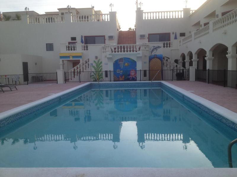 Pool - Sandollar Beachfront Rentals Golf FREE - San Felipe - rentals