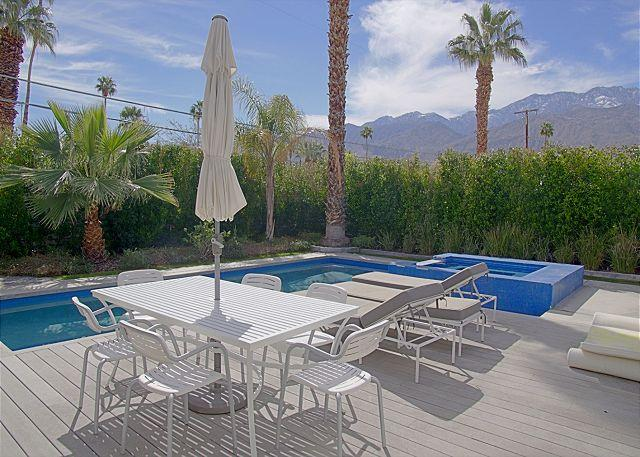 Outside Seating, Pool, and Spa - Artsy Escape ~ - Palm Springs - rentals