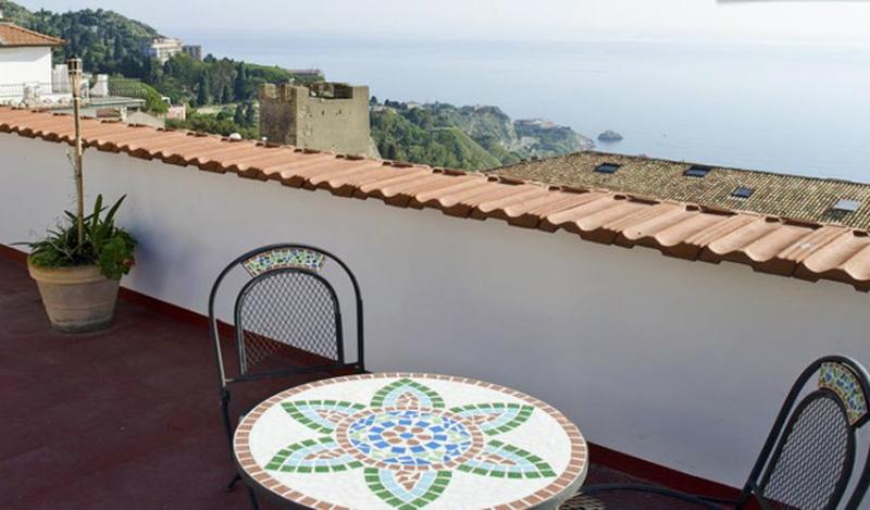 Common Terrace - Taormina City Center Apartments - Taormina - rentals