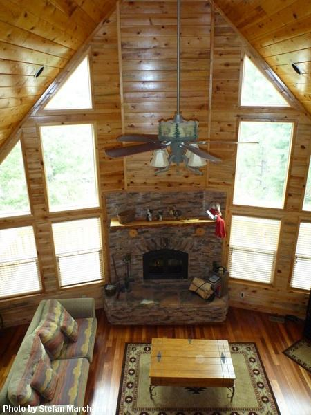 Inviting Family Room with fireplace - Bryce Canyon National Park Luxury Cabin - Bryce Canyon National Park - rentals