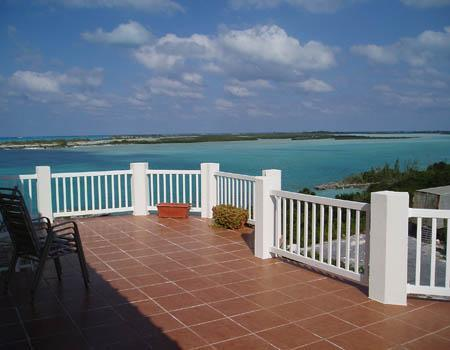 The spacious balcony - Harbour View: 120 5star reviews and counting ! - Great Exuma - rentals