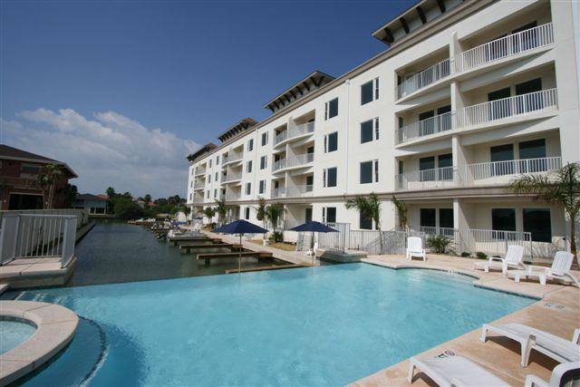 Las Marinas condominiums - Las Marinas - Mediterrean style with boat slips - South Padre Island - rentals
