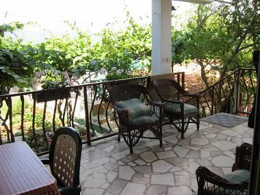 A1(6): terrace - 2930  A1(6) - Arbanija - Arbanija - rentals