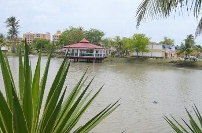 Gazebo a few steps from the town house - Sun, Sand and Sea at your Door Front - Dorado - rentals