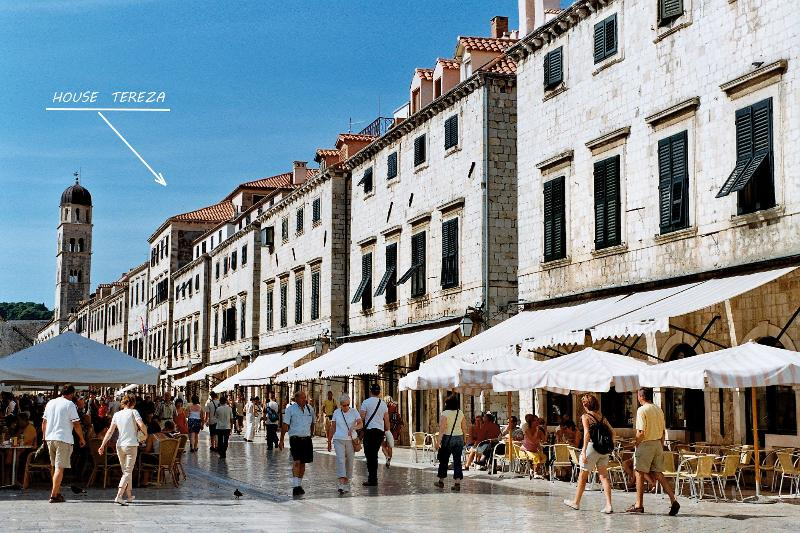 Main street stradun 1 min on foot from House Tereza - House Tereza Old Town - Dubrovnik - rentals