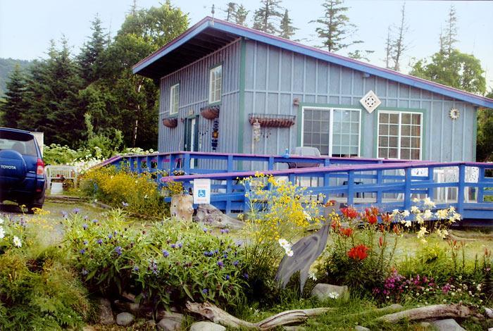 Garden Shed Cottage - Garden Shed Cottage: 2 bdrm, 2 blocks from beach - Homer - rentals