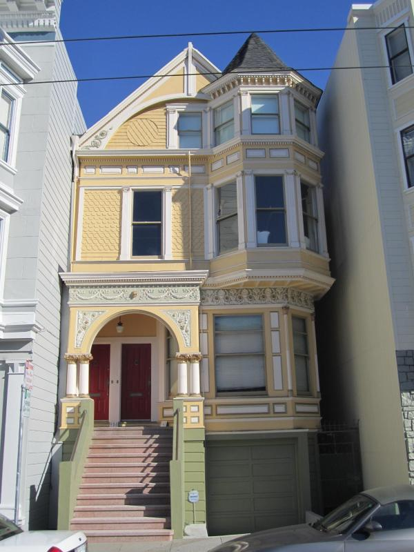 Exterior - The Painted Lady:Classic Queen Anne Victorian Flat - San Francisco - rentals