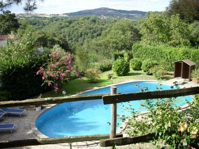 Pool with view onto the countryside - Landscaped  2 bds guesthouse, minutes from Rome - Formello - rentals