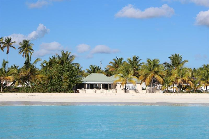 Island View Beach House - Beachfront 5 Bedrooms in Jolly Harbour, Antigua - Image 1 - Jolly Harbour - rentals
