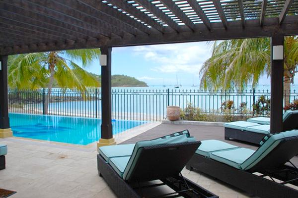 Tropical Breeze at Jolly Harbour, Antigua - Beachfront, Pool, Large Wrap-Around Terrace - Image 1 - Jolly Harbour - rentals