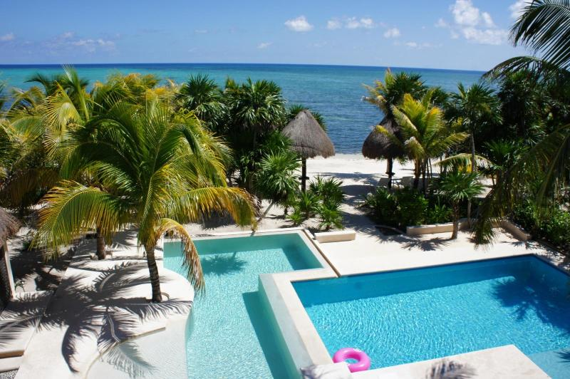 The Tropical soul just on the beach! - Image 1 - Soliman Bay - rentals