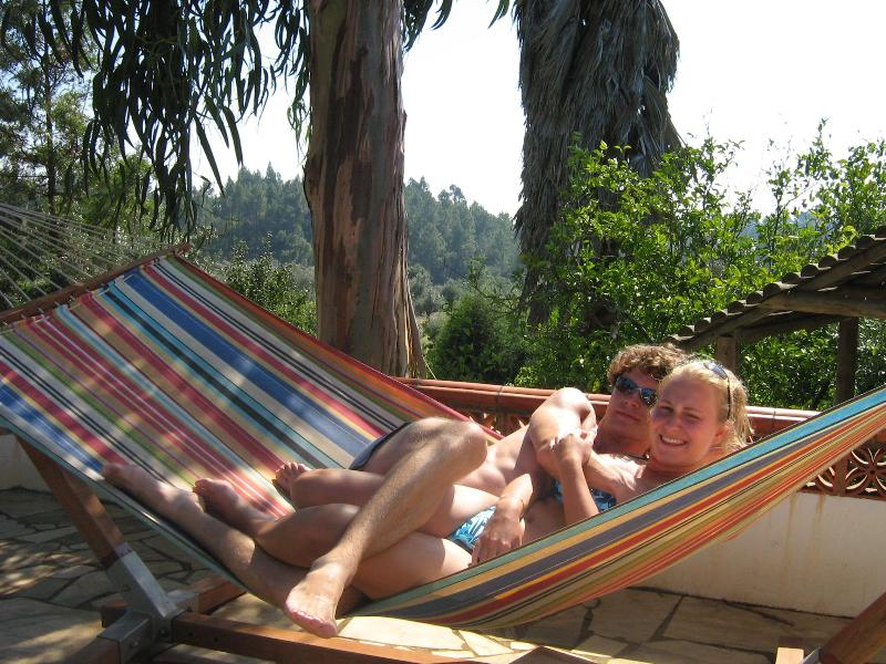 Relaxing at the Pool Terrace - Redondo Chalets and Camping - Tomar - rentals