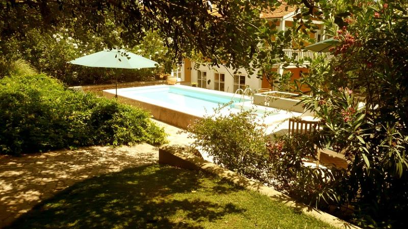 View of the Pool from the garden - Casa Clementina - Boliqueime - rentals