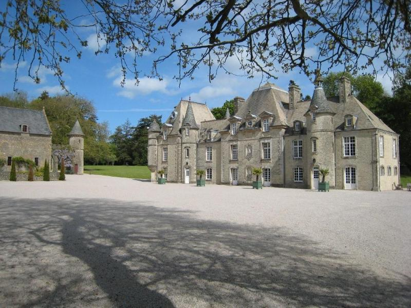 EXTERIOR VIEW - D'DAY NORMANDY LUXURY RENTAL CHATEAU.POOL & TENNIS - Normandy - rentals
