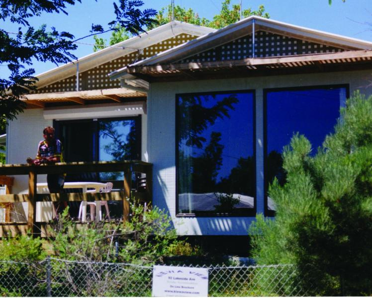 Front view sun deck to left - Kiewa View 3Br Self Catering Great Value Mt Beauty - Mount Beauty - rentals