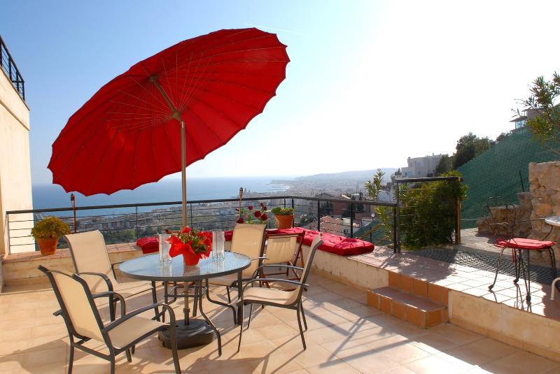 Main terrace first floor - Villa Sunlight Sitges-Barcelona - Sitges - rentals