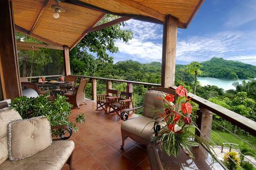 Outdoor dining area - One-Bedroom Villas in the Rainforest & Ocean View - Manuel Antonio National Park - rentals