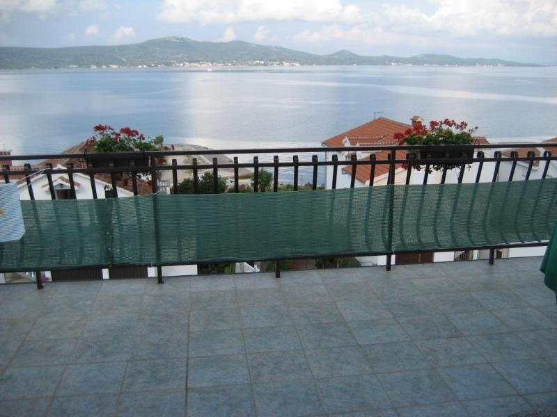 Terrace-view - Apartments Darija - Attic, seaview, 50m from sea - Sveti Petar - rentals