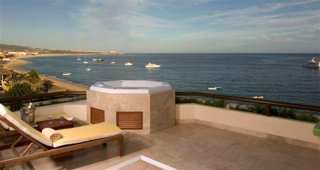 panoramic views of cabo san lucas bay - #1LOCATION BEACHFRONT 2bdrmPENTHOUSE ON MAINBEACH - Cabo San Lucas - rentals