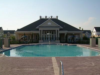The Pool And Clubhouse - Minutes To Disney World 3 Bedroom 2 Bath Town Home - Kissimmee - rentals