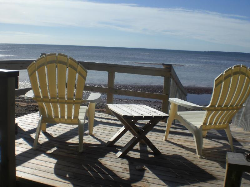 Beach Deck - PEI  Beach Castle - Cardigan - rentals