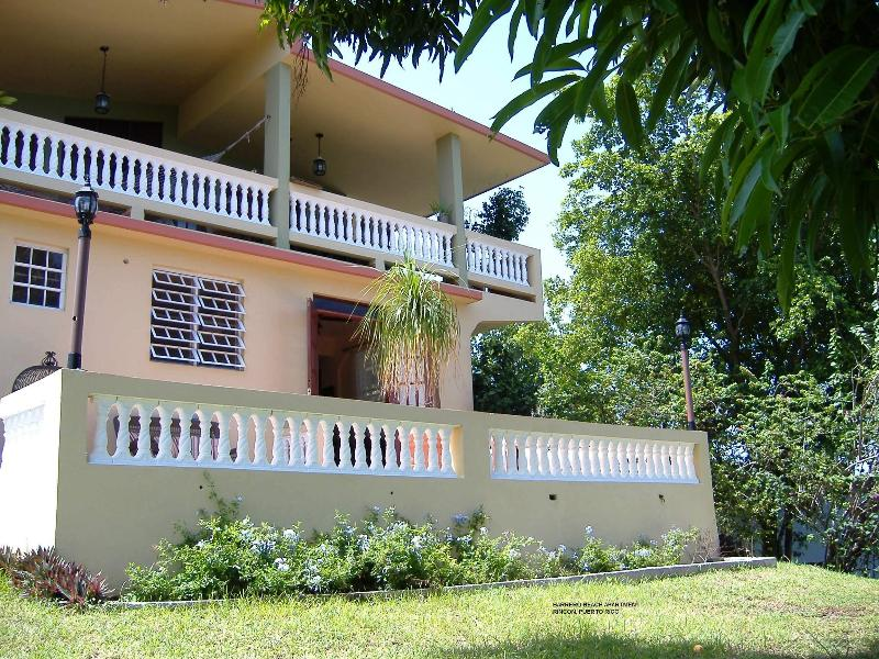 Front of apartment - Barrero Beach Apartment - Rincon - rentals