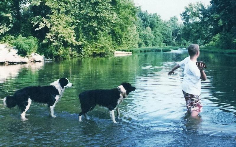 Bear Creek makes a natural playground for outdoor fun. - Bear Creek Log Cabins - Saint Joe - rentals